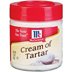McCormick Specialty Herbs And Spices Cream Of Tartar