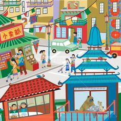 'Chinatown, San Francisco' by Jenna Riggs