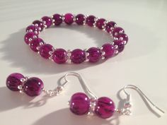 Bracelet & Earring Jewellery Set
