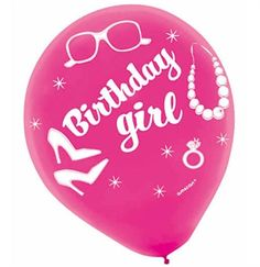 Sweet 16 Birthday Girl Balloon - Sweet 16 Balloon Decorations #Sweet16 #Sweet16Balloon #BirthdayGirl