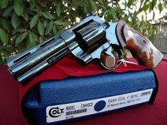 "Colt Python .357 Magnum 4""Find our speedloader now!  http://www.amazon.com/shops/raeindLoading that magazine is a pain! Get your Magazine speedloader today! http://www.amazon.com/shops/raeind"