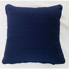 Solid Cushion Cover - Blue (45cm x 45cm) - Mode Alive - Home Decor Heaven