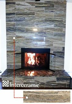 #interceramic Turkish Travertine - Mystic Wood - Natural Stone