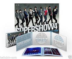 SUPER JUNIOR - World Tour: SUPER SHOW 4 (2 DISC + PhotoBook)+ GIFT MINI POSTCARD