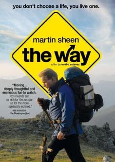 This movie is AWESOME. Martin Sheen and Emilio Estevez bring it. Now planning on walking the Camino in August 2016 for our 25th wedding anniversary! Hence my Camino Pinterest Board!