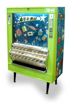 Art-o-mat machines are retired cigarette vending machines, converted to vend art. There are over 90 active machines throughout the U.S. The experience of pulling the knob alone is quite a thrill, but you also walk away with an original work of art. What an easy way to become an art collector! There are around 400 contributing artists from 10 different countries currently involved in the Art-o-mat project. [kitsch] Point Park and Eats  San Antonio, TX