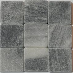 Naturstein 10x10x4mm - Grau Living Room Mirrors, Tile Floor, Flooring, Blue, Mosaic Stones, Around The Worlds, Stoneware, Natural Stones, Granite Counters