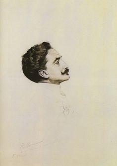 Paul Helleu, 'Robert de Montesquiou,' 1913