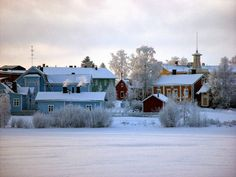 Pikisaari, Oulu Finland. Winter Pictures, Finland, City, Places, Outdoor, Image, Pho, Albums, Strong