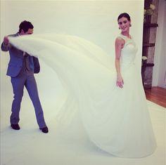 #TrulyZacPosen @David's Bridal  Beautiful Ball Gowns @Anne Chertoff Instagram