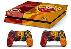 Skin PS4 AS ROMA ULTRAS CALCIO limited edition DECAL COVER ADESIVA