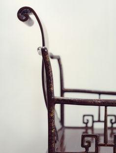 Chinese Asian chair  http://www.pinterest.com/joliesarts ∗  »☆Elysian-Interiors ♕ Simply Divine #Interiordesign