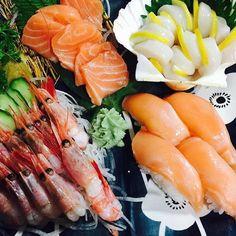 Combate el calor con algo fresquito como nuestros nigiris y sashimi #Hanakura