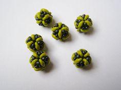 Tutorial Tiny beaded bead with superduo beads von Akkesieraden