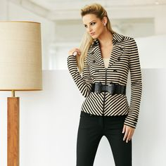 Love this jacket to dress up for work or dress down for a weekend outing with my daughter.