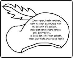 * Versje: Zwarte Piet heeft verdriet... Yoga For Kids, Diy For Kids, Crafts For Kids, Class Projects, Christmas Illustration, Too Cool For School, Primary School, In Kindergarten, Stage