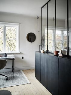 my scandinavian home: Small space inspiration - from the home of a Swedish stylist
