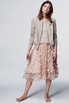 Fluttered Fete Midi Skirt - anthropologie - love