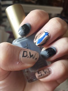 Elegant Nail Envy Johnson City- Encouraged to my website, on this time period I am going to show you in relation to nail env Sam Dean, Dream Nails, Love Nails, Dean Winchester, Supernatural Nails, Gel Nails, Nail Polish, Acrylic Nails, City Nails