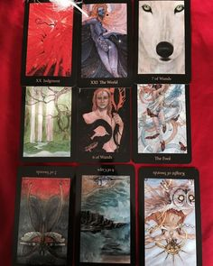 Man I love working with the #Maryel #tarot deck. Right on the money. Holds no punches. #professionaltarotreaders #makedecisions #throwingcards #ilovetarot