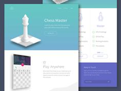 Chess Master App Landing Page