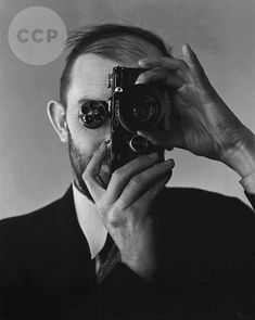 Ansel Adams after He Got a new Camera, 1936 -by Edward Weston