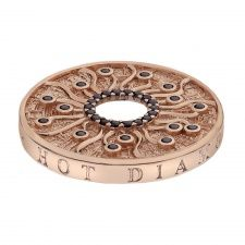 Emozioni 33mm Rose Gold Plate Many Paths Coin EC150