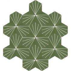 Moroccan Encaustic Cement Hexagonal Tile Artic-29-hex