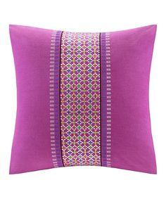 Another great find on #zulily! Vivid Viola Throw Pillow #zulilyfinds