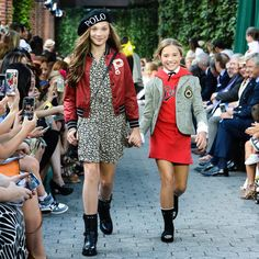 "43.7k Likes, 622 Comments - Ralph Lauren (@ralphlauren) on Instagram: ""Runway girls: dancers @maddieziegler and @officialmackzmusic show off their modeling moves at…"""