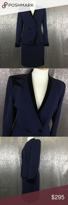 Escada couture starburst skirt suit set In amazing condition, one tiny flaw to the skirt as pictured, other than that it looks like it's deadstock! Escada Other