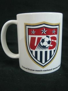 Mug - USA Soccer / Football Team in Fifa World Cup 2014 Brasil / Brazil - A Souvenir Coffee Mug FIFA World Cup 2014