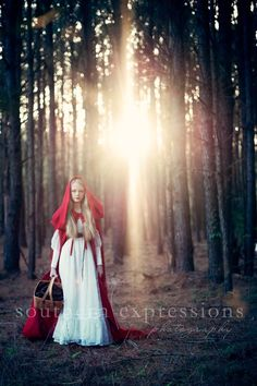 Southern Expressions Photography - Red Riding Hood