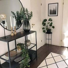 Mid-century Furniture To Glam Up Your Modern Living Room Design your life to suit your style perfect Modern Entryway, Entryway Decor, Entryway Ideas, Foyer, Living Room Decor, Bedroom Decor, Dining Room, Dining Decor, Decor Room