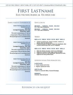 best free downloadable resume templates