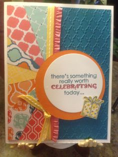 Stampin Up! Sunburst by Mary Anne Grimmer
