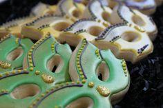 Mardi Gras Cookies Favors mask cookie favors by 4theloveofcookies