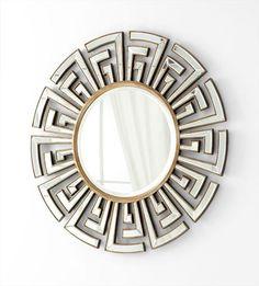 Cleo Mirror design by Cyan Design