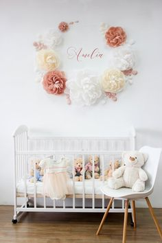 68 Ideas Baby Bath Essentials Recipes For For 2019 Baby Room Colors, Wall Colors, Beige Nursery, White Angel Wings, Nursery Wall Decor, Nursery Ideas, Essentials, White Rooms, White Beige