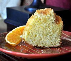 Orange Bundt Cake with Orange Glaze (finally, something for all the oranges from my orange tree!)