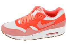 huge discount 2fe30 798d0 Nike Air Max 1 – Bright MangoTotal Crimson Nike Air Max 2012, Billige