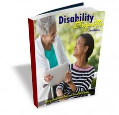"""An e-book to help people feel more relaxed and less embarrassed around disabled people - illustrated by the wonderful """"Crippen's"""" cartoons."""