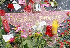 patrick swayzes star on hollywood walk of fame