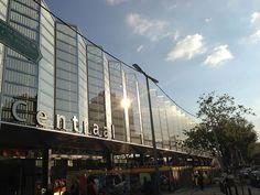 Backside Rotterdam central station