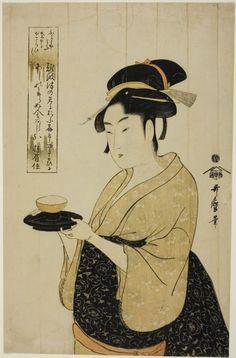 Kitagawa Utamaro (1756-1806), Naniwaya Okita