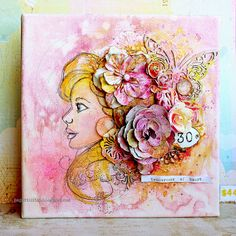 Tenderness by Riikka Kovasin for Mixed Media Place
