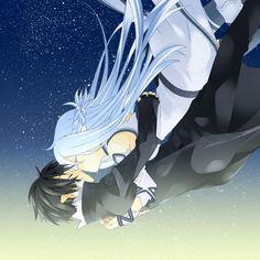 Kirito and Asuna ALfheim Online