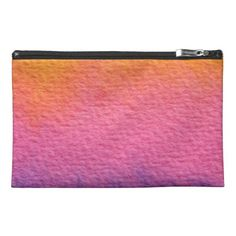 Watercolor Textures Travel Accessory Bags