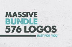 MEGA BUNDLE 1100 Logos & Badges - 6