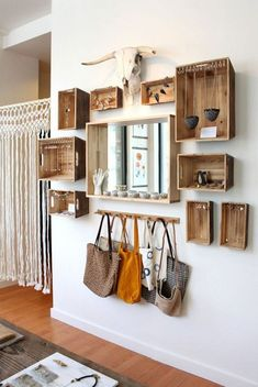 Trendy Home Organization Closet Shoes Small House Diy, Small Houses, Hidden Jewelry Storage, Diy Rangement, Diy Regal, Diy Home Decor On A Budget, Trendy Home, Home Office Design, Diy Storage